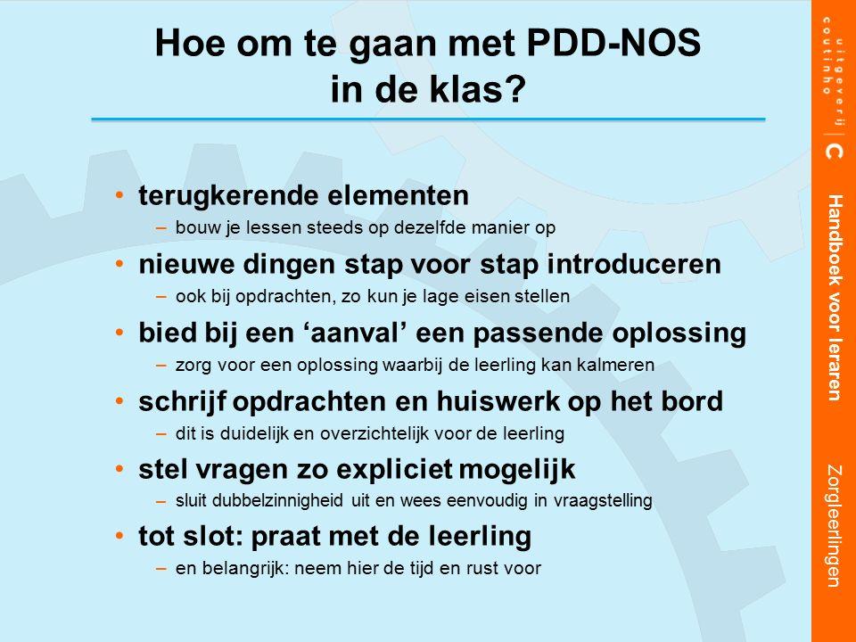 Hoe om te gaan met PDD-NOS