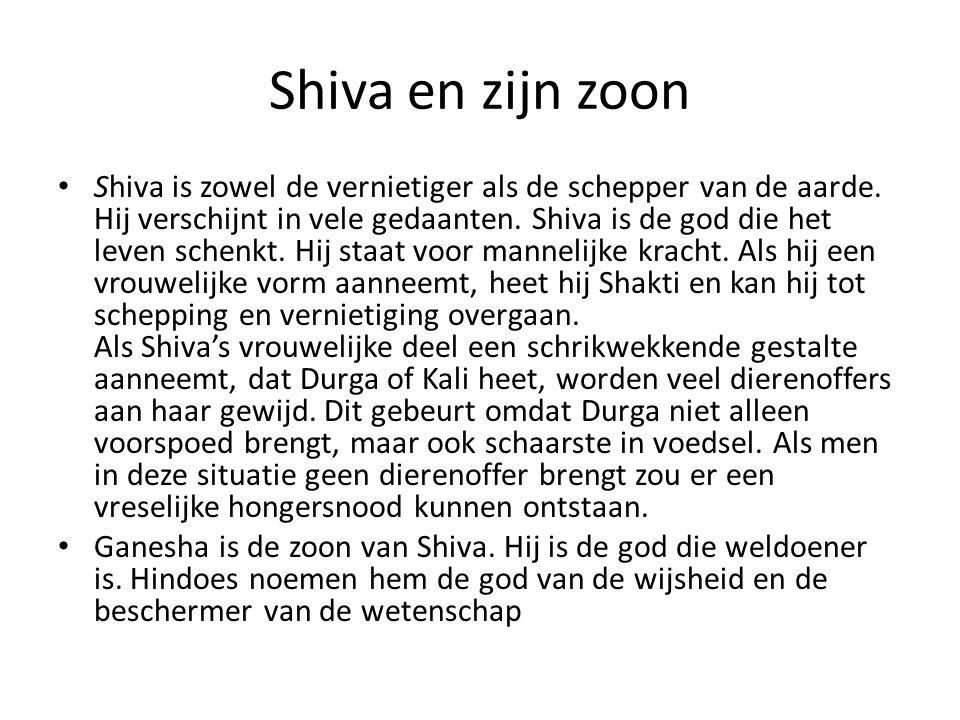 Shiva en zijn zoon
