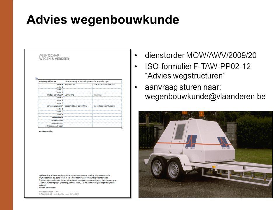 Advies wegenbouwkunde