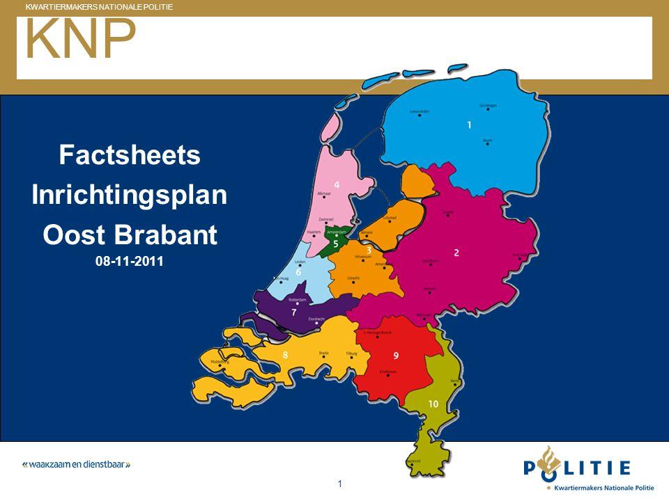 KNP Factsheets Inrichtingsplan Oost Brabant 08-11-2011