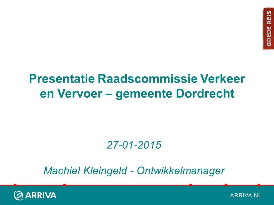 Presentatie Raadscommissie Verkeer en Vervoer – gemeente Dordrecht