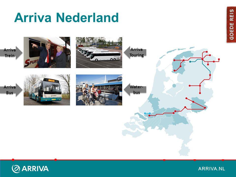 Arriva Nederland Arriva Trein Arriva Bus Arriva Touring Water-bus