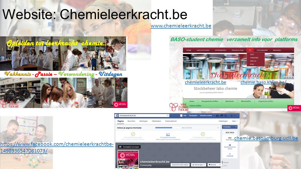 Website: Chemieleerkracht.be