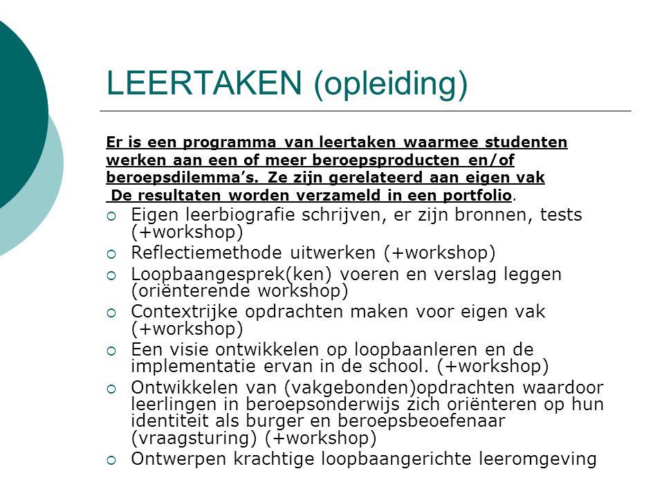 LEERTAKEN (opleiding)