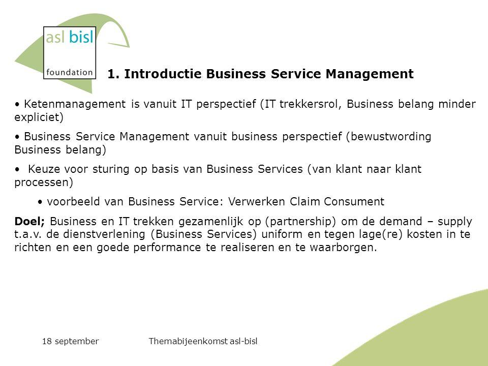 1. Introductie Business Service Management