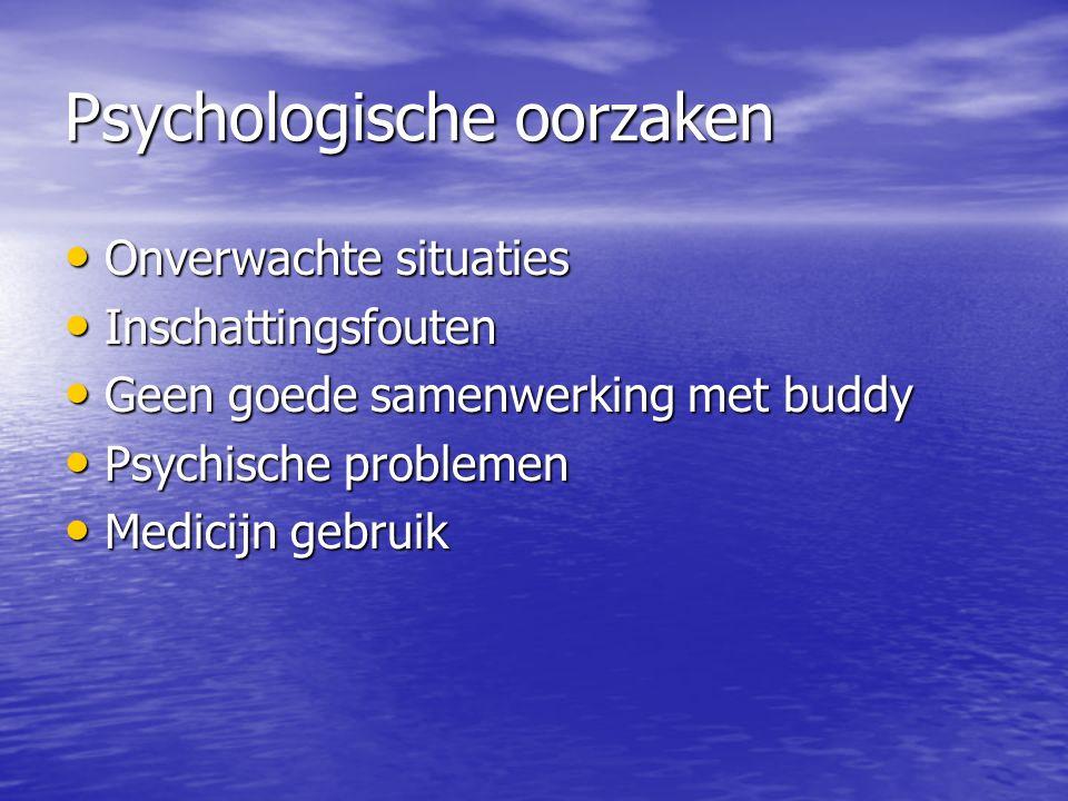 Psychologische oorzaken