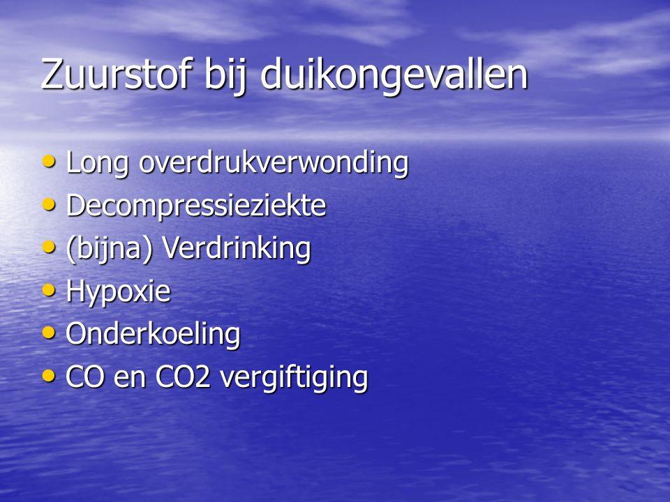 Zuurstof bij duikongevallen