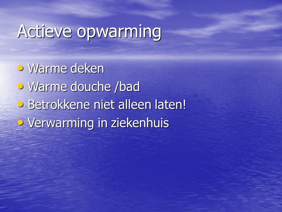 Actieve opwarming Warme deken Warme douche /bad