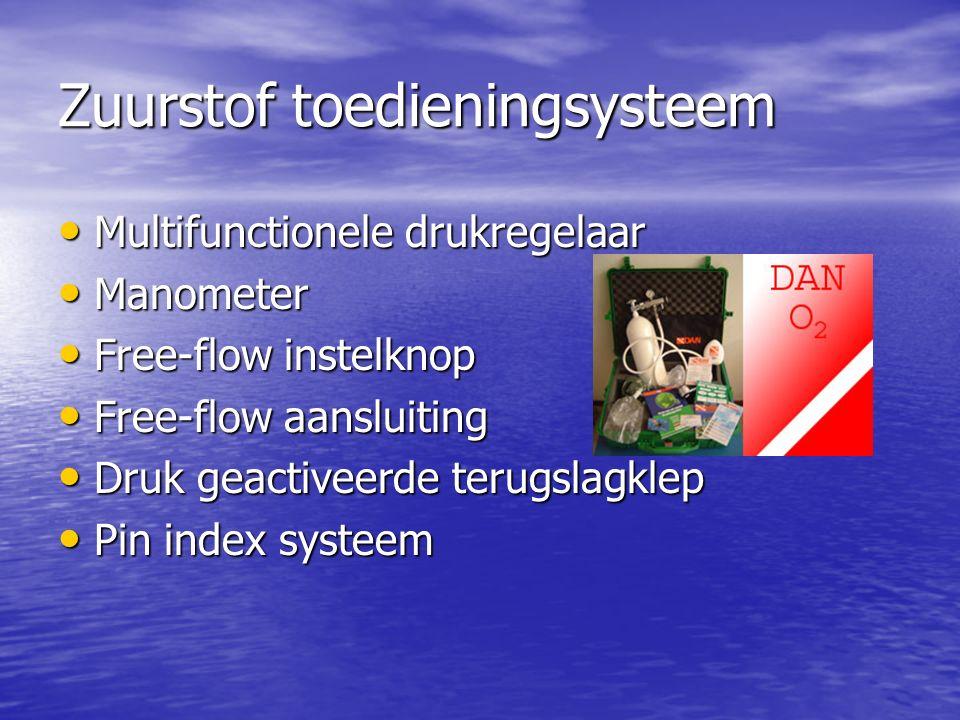 Zuurstof toedieningsysteem