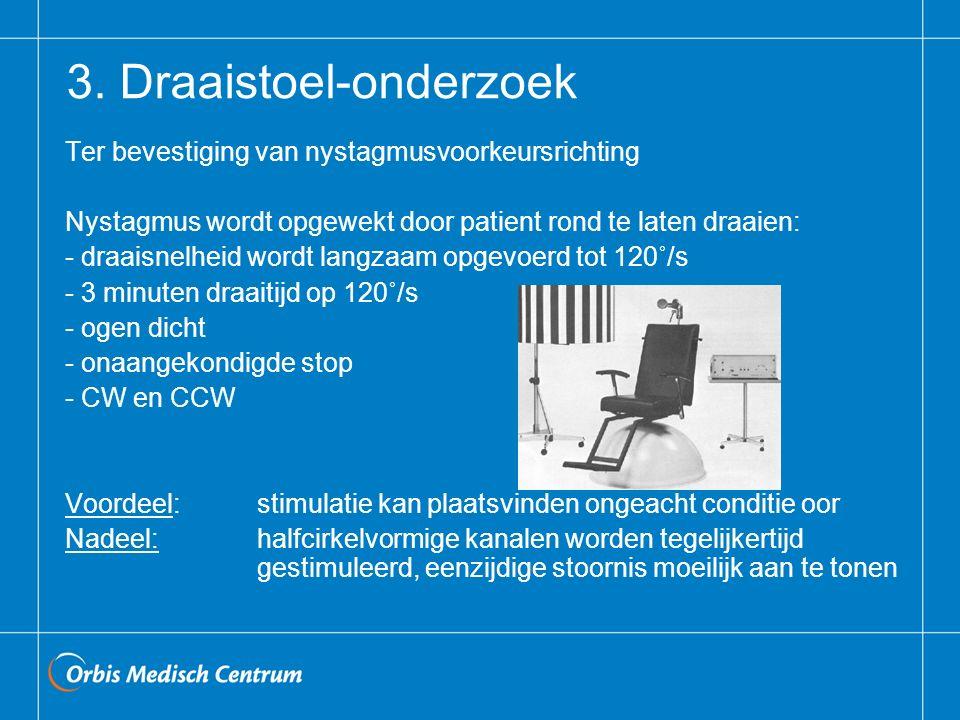 3. Draaistoel-onderzoek