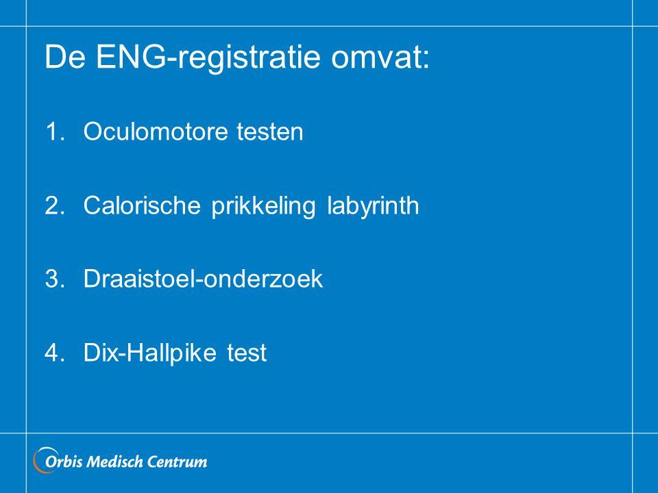 De ENG-registratie omvat: