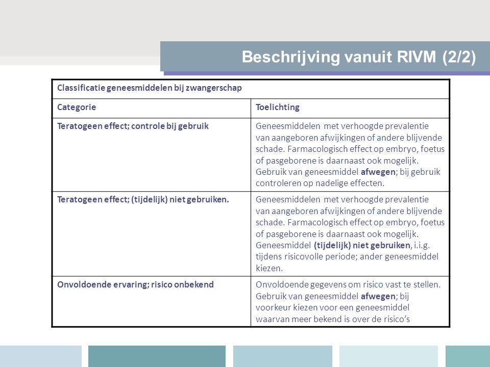 Beschrijving vanuit RIVM (2/2)