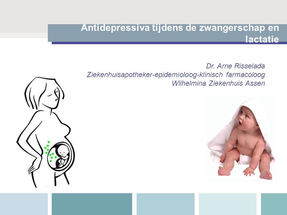 Antidepressiva tijdens de zwangerschap en lactatie