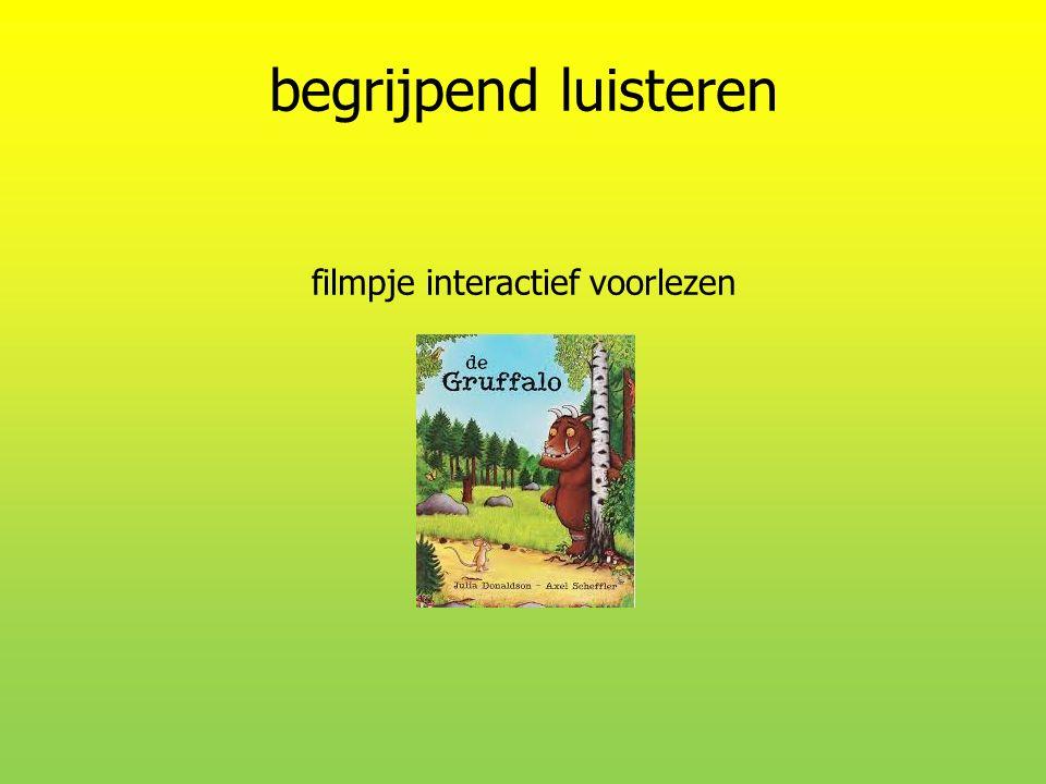 begrijpend luisteren filmpje interactief voorlezen