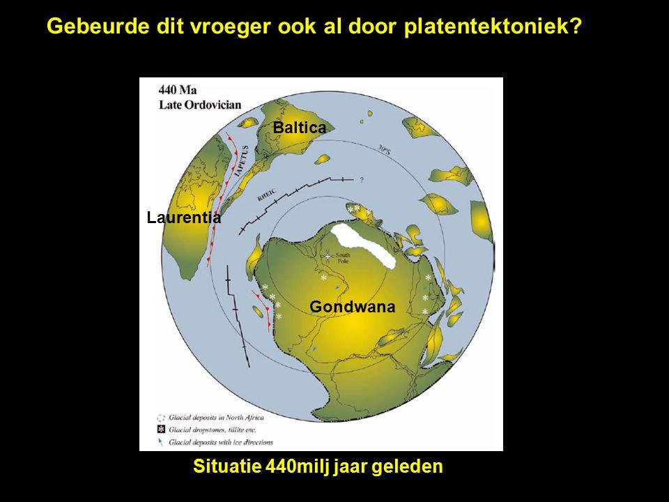 Situatie 440milj jaar geleden