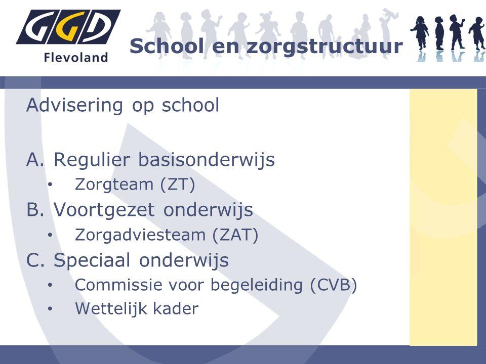 School en zorgstructuur