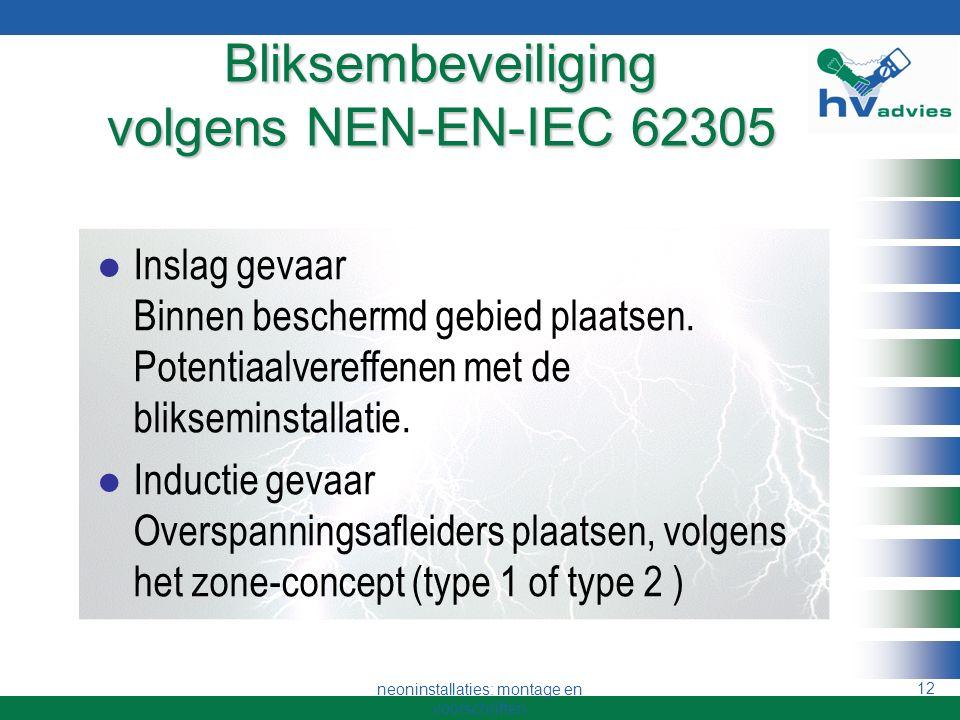 Bliksembeveiliging volgens NEN-EN-IEC 62305