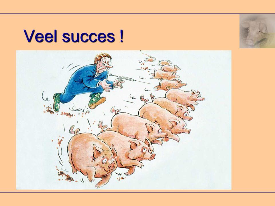 Veel succes !