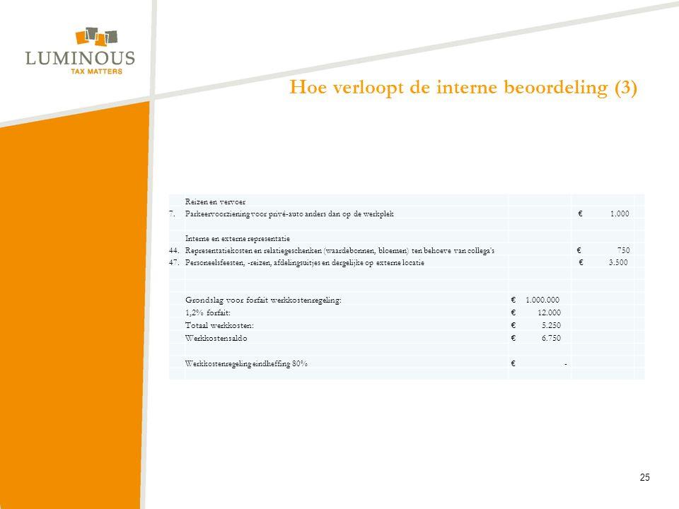 Hoe verloopt de interne beoordeling (3)