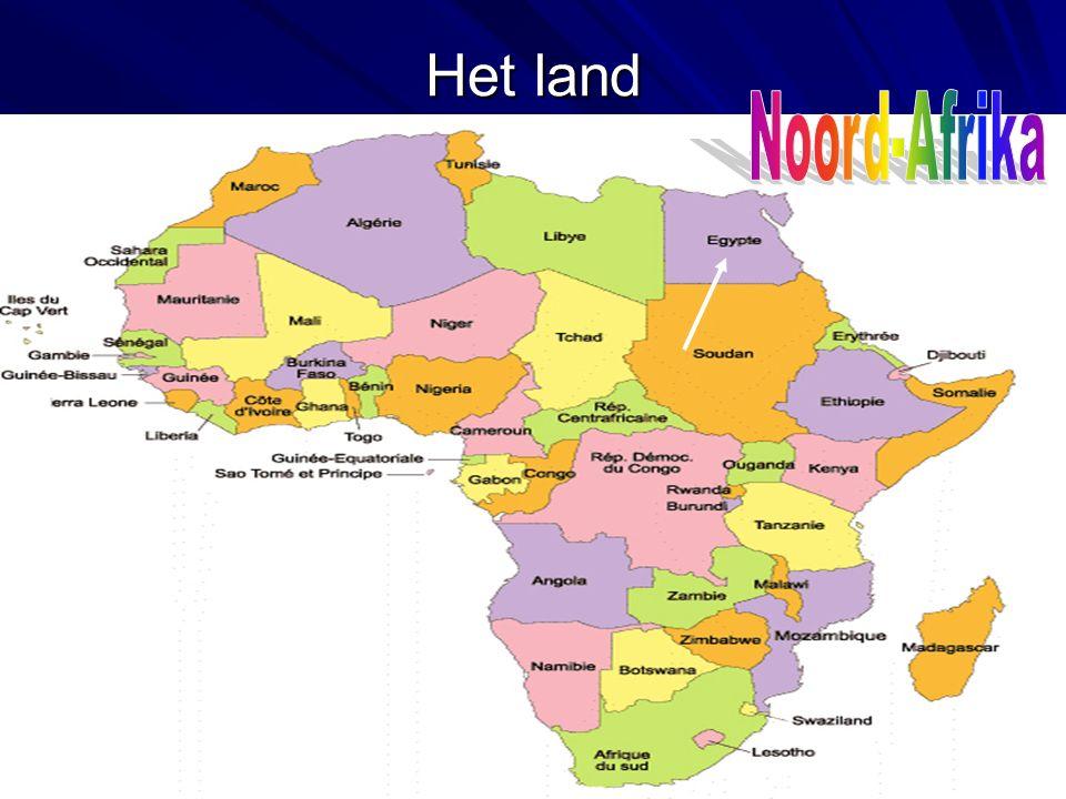 Het land Noord-Afrika