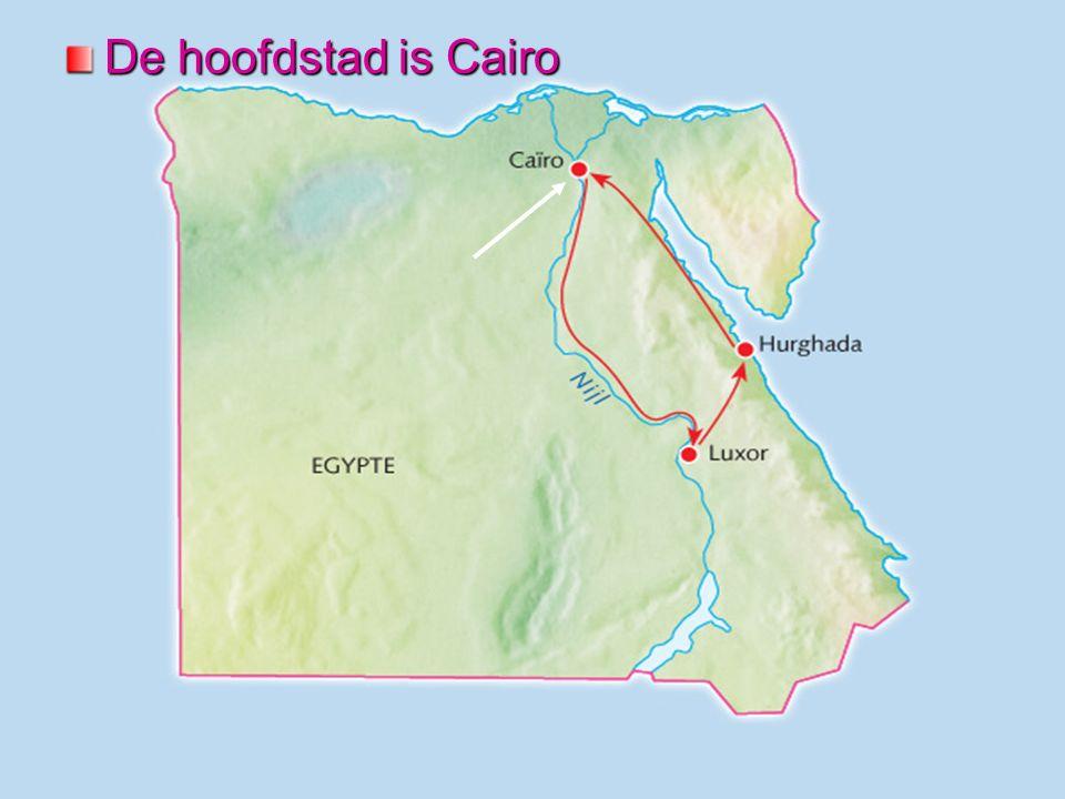 De hoofdstad is Cairo