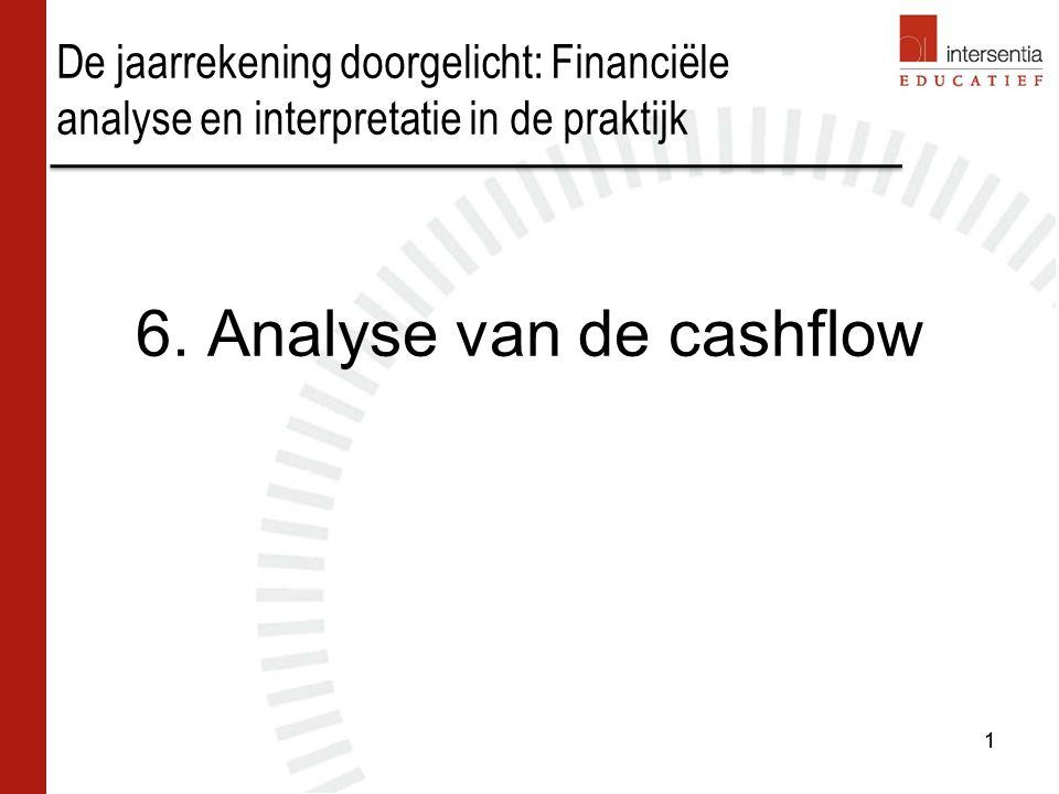 6. Analyse van de cashflow
