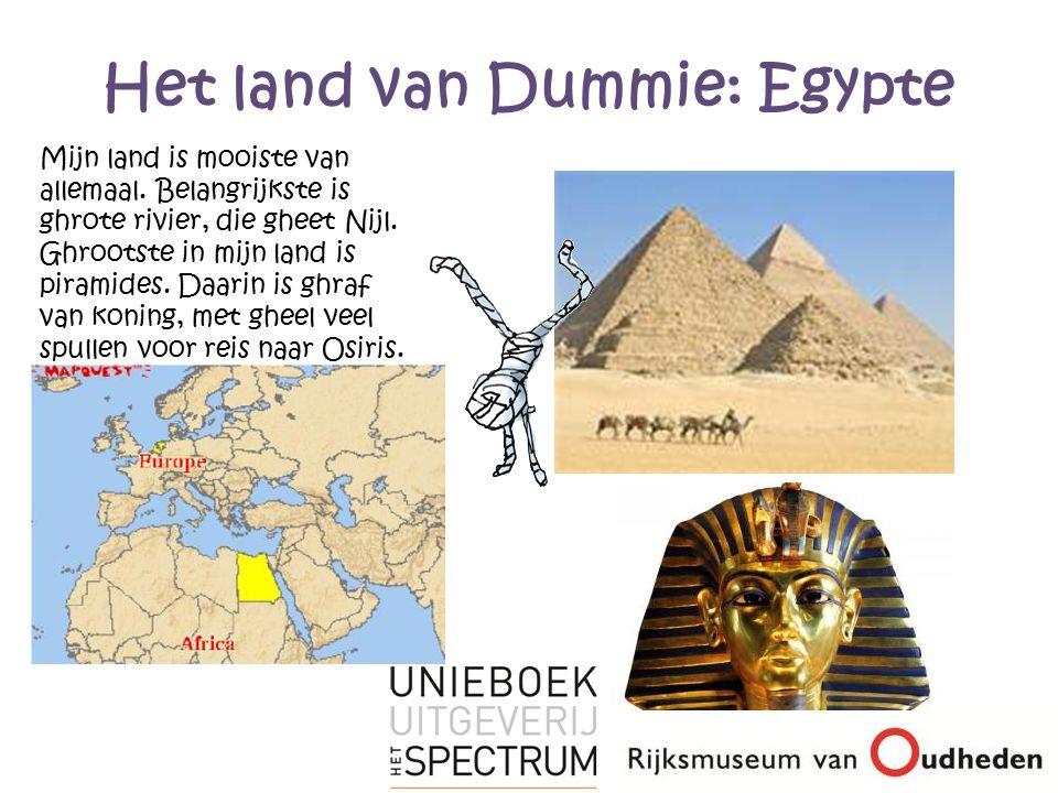 Het land van Dummie: Egypte