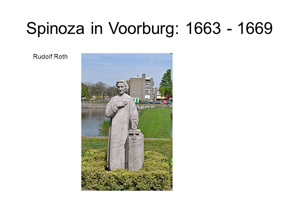 Spinoza in Voorburg: 1663 - 1669 Rudolf Roth