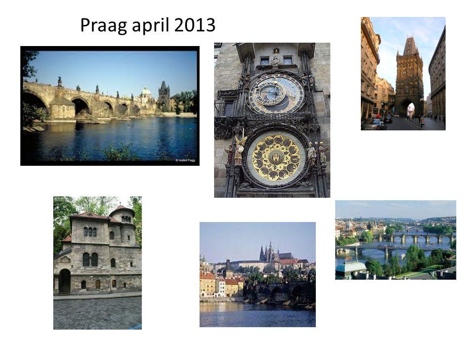 Praag april 2013