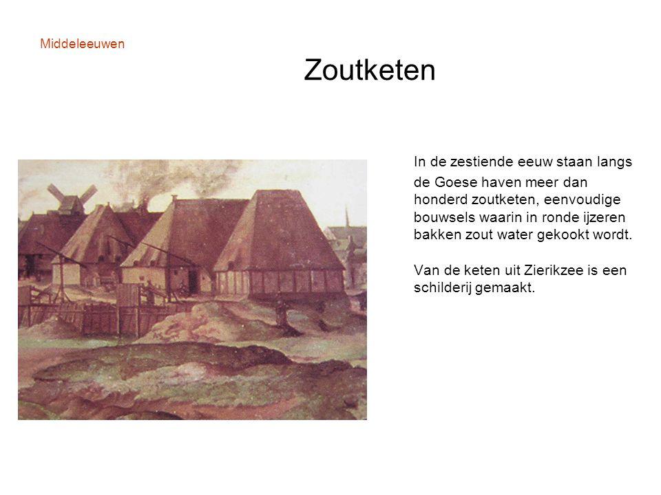 Middeleeuwen Zoutketen