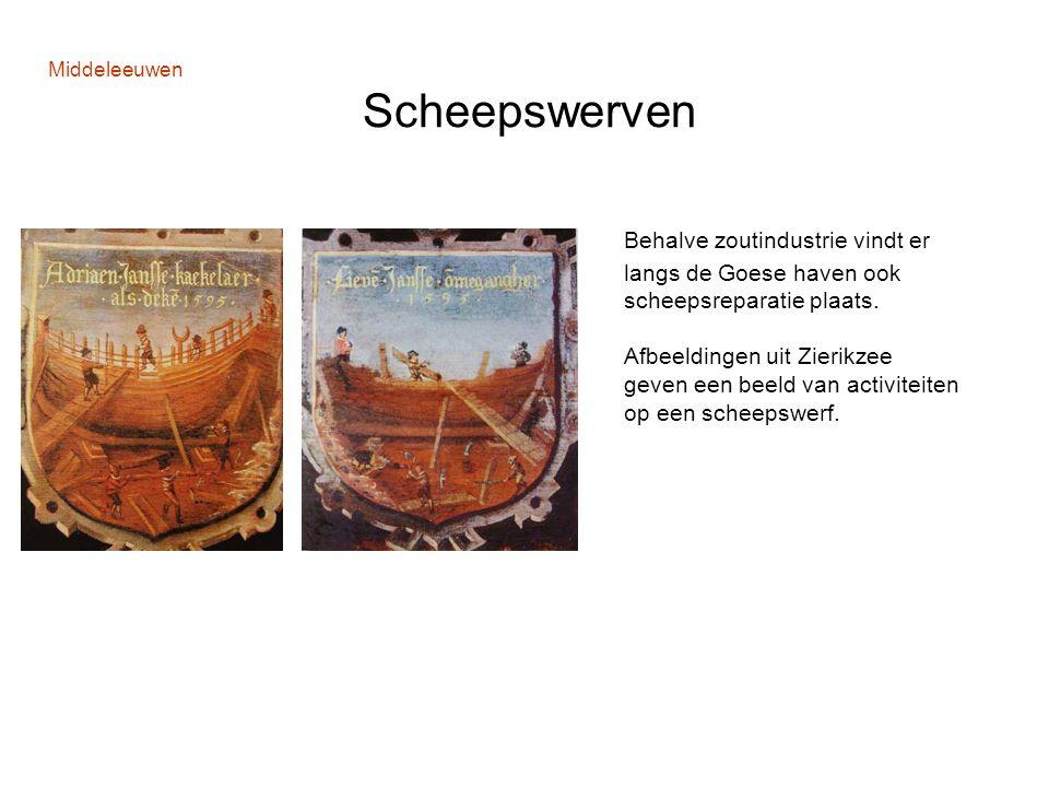 Middeleeuwen Scheepswerven