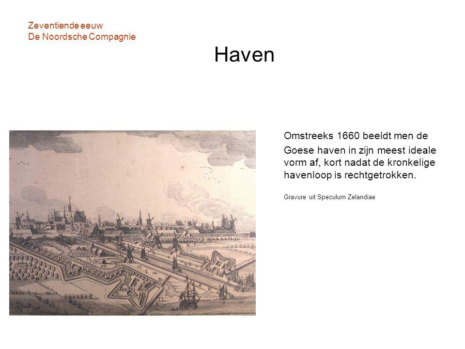 Zeventiende eeuw De Noordsche Compagnie Haven