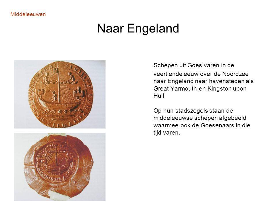 Middeleeuwen Naar Engeland