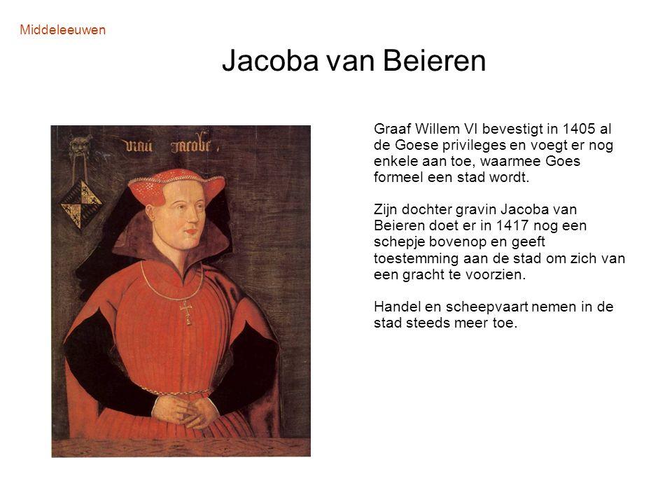 Middeleeuwen Jacoba van Beieren