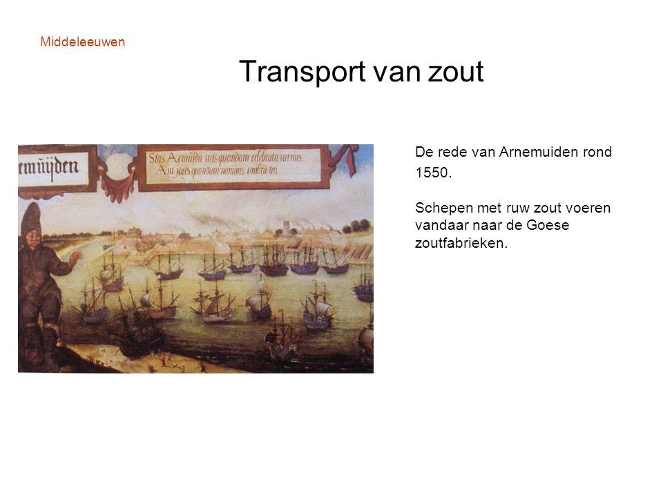 Middeleeuwen Transport van zout