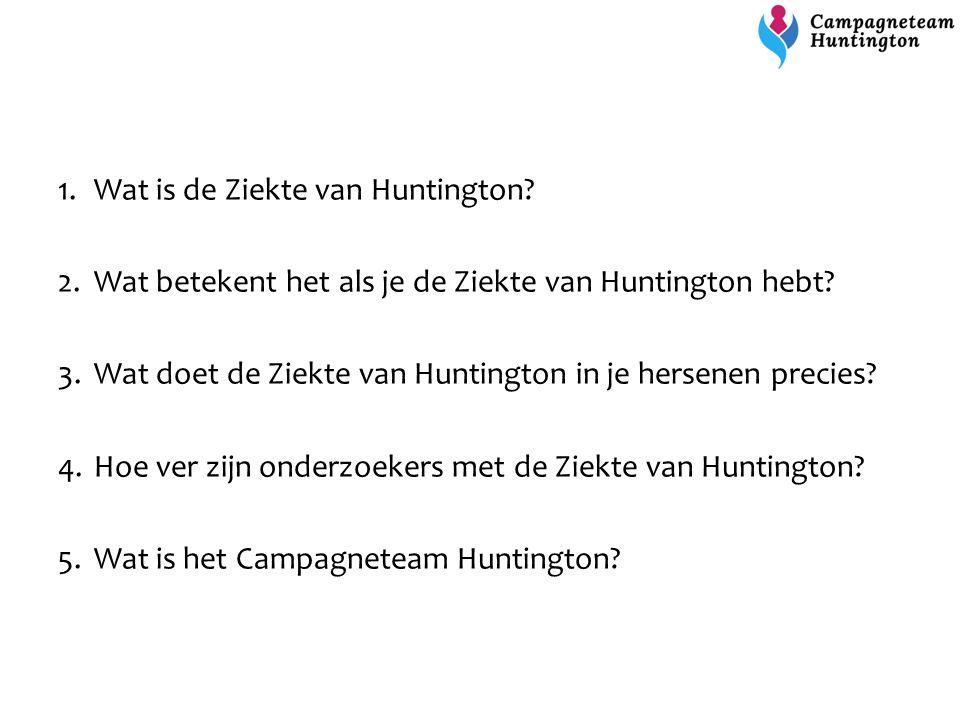 Wat is de Ziekte van Huntington