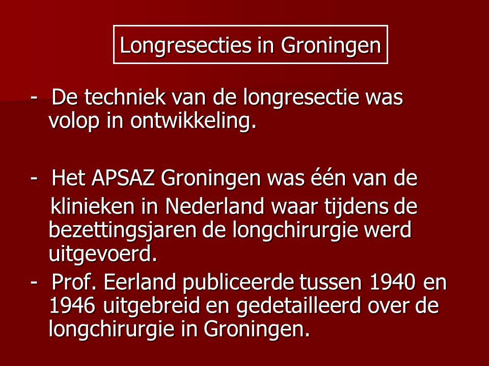 Longresecties in Groningen