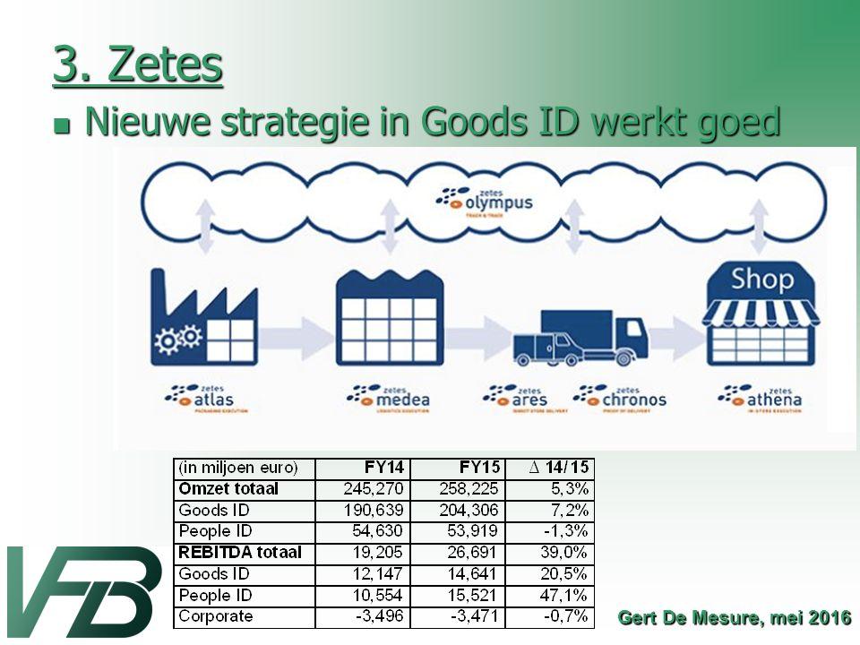 3. Zetes Nieuwe strategie in Goods ID werkt goed