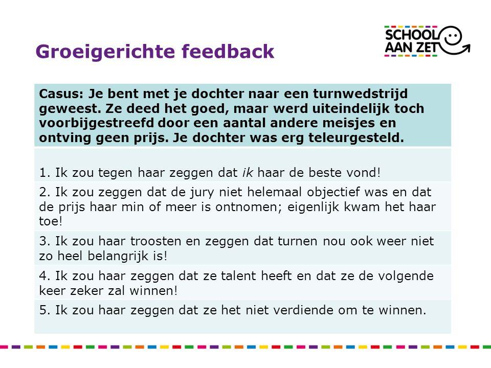 Groeigerichte feedback