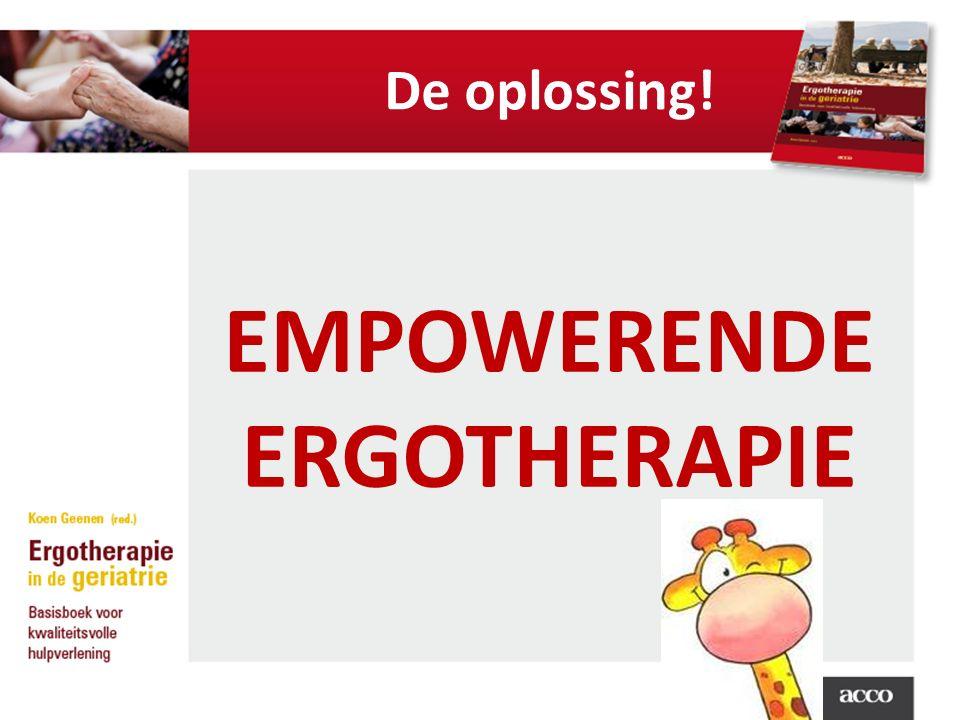 EMPOWERENDE ERGOTHERAPIE