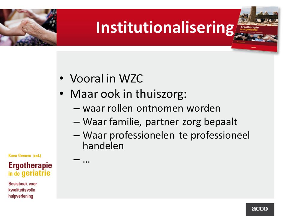 Institutionalisering