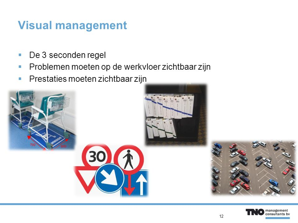 Visual management De 3 seconden regel