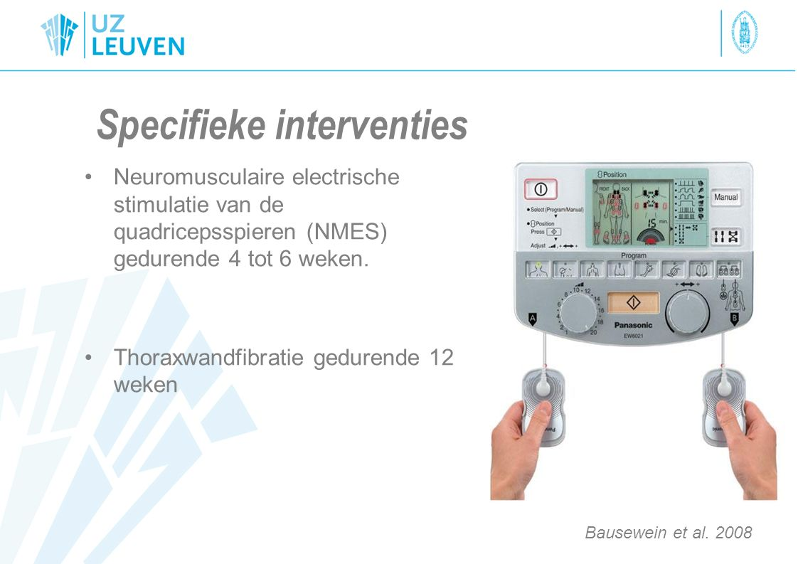 Specifieke interventies