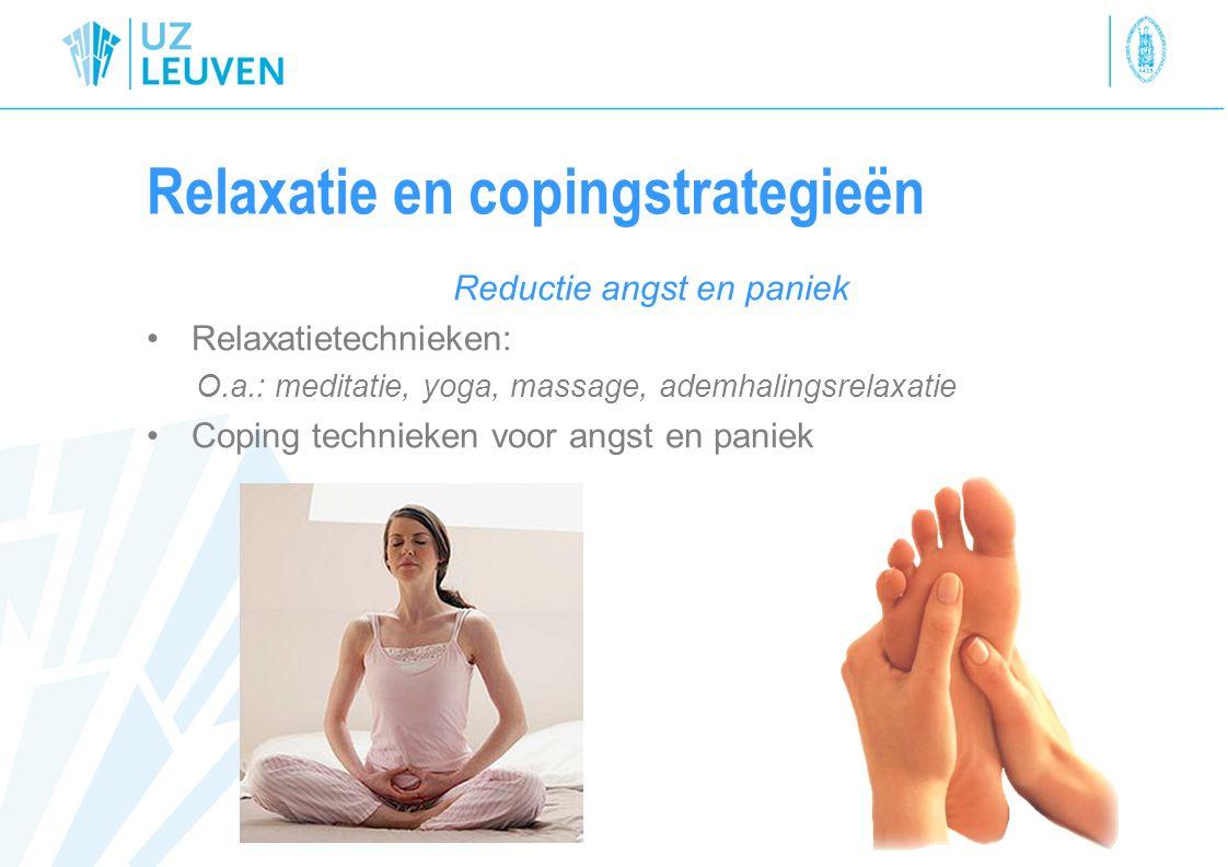 Relaxatie en copingstrategieën