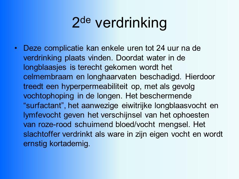 2de verdrinking