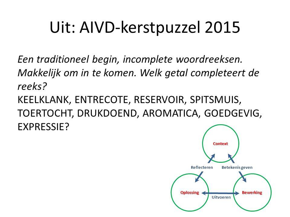 Uit: AIVD-kerstpuzzel 2015