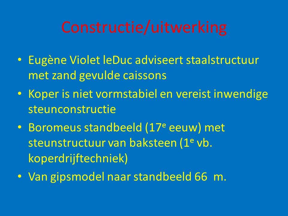 Constructie/uitwerking