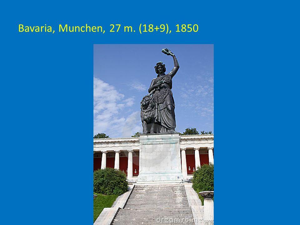 Bavaria, Munchen, 27 m. (18+9), 1850