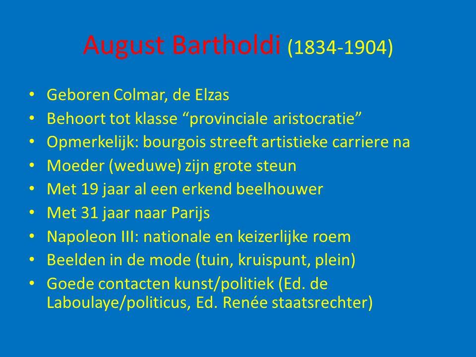 August Bartholdi (1834-1904) Geboren Colmar, de Elzas