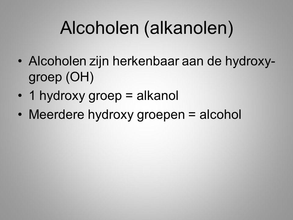 Alcoholen (alkanolen)